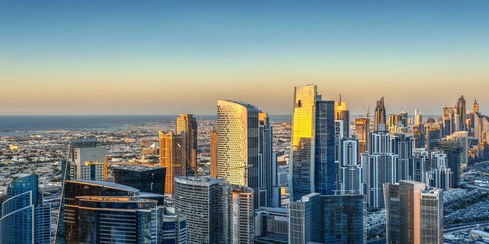 Dubai Skyline in Daytime