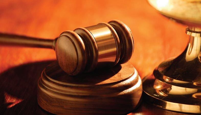 Legal Corner- wooden gavel